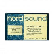 Библиотека тембров NORD CLAVIA SOUND LIBRARY 1 NORD 2