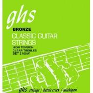 GHS STRINGS 2100W SILVER ALLOY