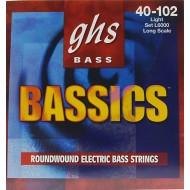 GHS STRINGS L6000 BASSICS