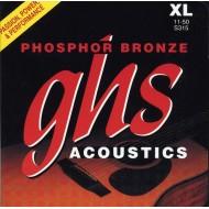 GHS STRINGS S315 PHOSPHOR BRONZE
