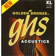 GHS STRINGS GB20X 11-50 GOLDEN BRONZE