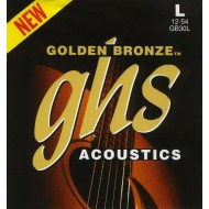 GHS STRINGS GB30L 12-54 GOLDEN BRONZE